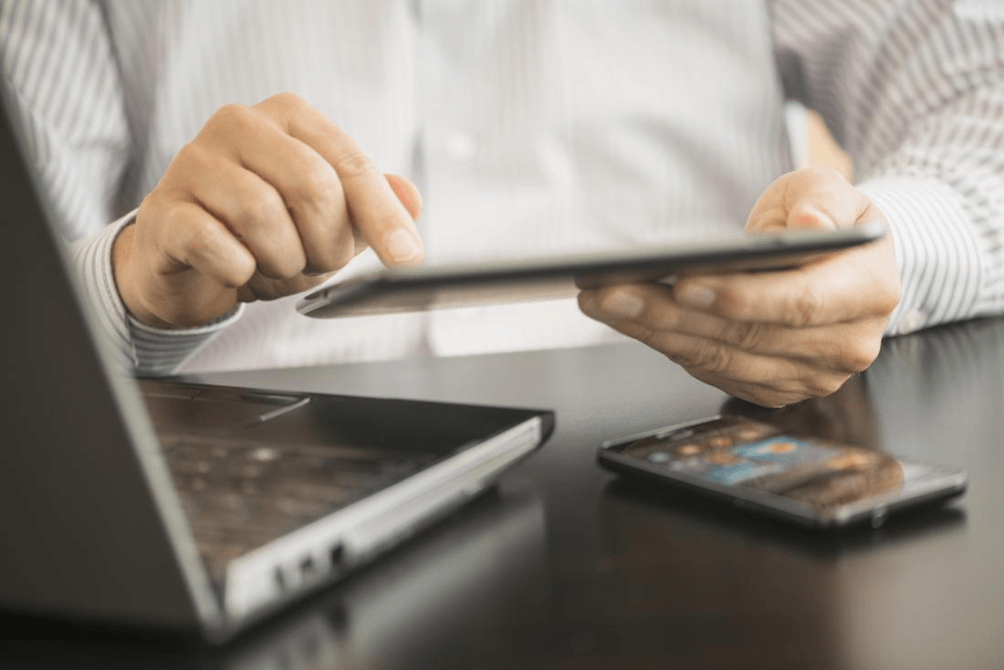 Tablets and touch screen technology